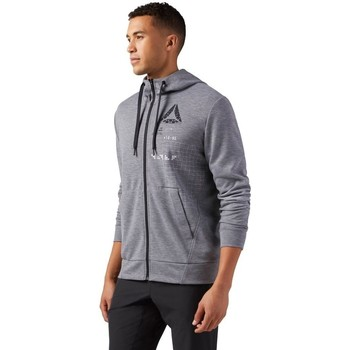 Clothing Men Sweaters Reebok Sport Speedwick Grey
