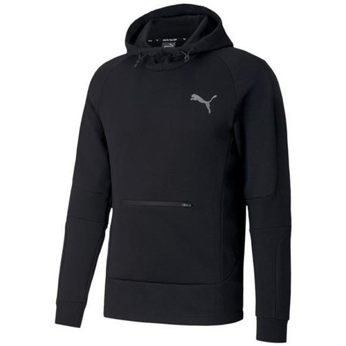 Clothing Men Sweaters Puma Evostripe Hoodie Black
