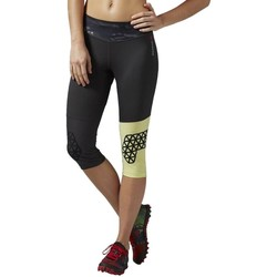 Clothing Women Leggings Reebok Sport 34 Spartan Race Graphite