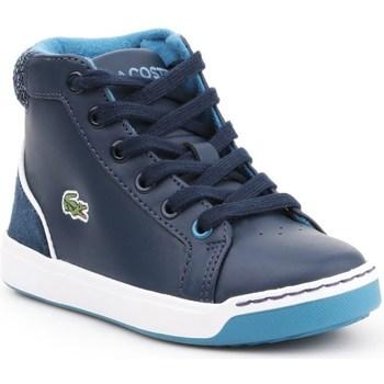 Shoes Children Hi top trainers Lacoste Explorateur Lace Navy blue
