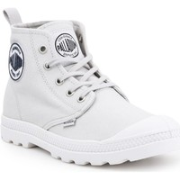 Shoes Women Hi top trainers Palladium LP Mid Cvs Grey