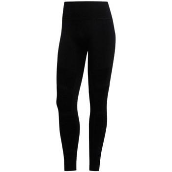 Clothing Women Leggings adidas Originals 78 Warp Knit Tight Black