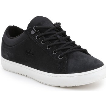 Shoes Women Low top trainers Lacoste Straightset Insulate Black