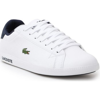 Shoes Men Low top trainers Lacoste Graduate White