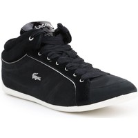 Shoes Women Low top trainers Lacoste Missano Mid Black