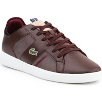 Shoes Men Low top trainers Lacoste Novas Brown