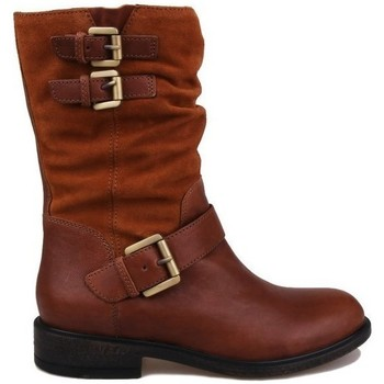 Shoes Women Ankle boots Geox Catria Brown