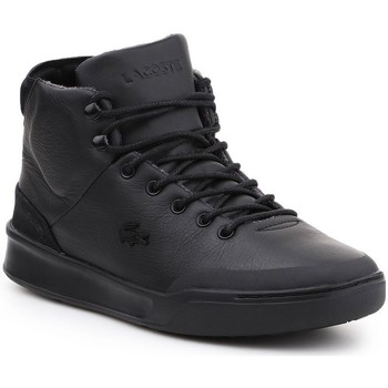 Shoes Men Hi top trainers Lacoste Explorateur Clas Black
