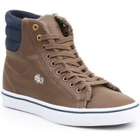 Shoes Women Hi top trainers Lacoste Marcel Mid Brown
