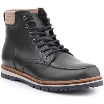 Shoes Men Mid boots Lacoste Montbard Boot Black