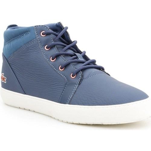Shoes Women Mid boots Lacoste Ampthill Blue