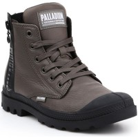 Shoes Women Hi top trainers Palladium Pampa Ubn Zips Brown