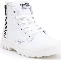 Shoes Women Hi top trainers Palladium Pampa Ubn Zips Lth White