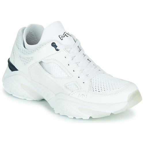 Shoes Men Low top trainers Skechers KRAZ - THURSTON White