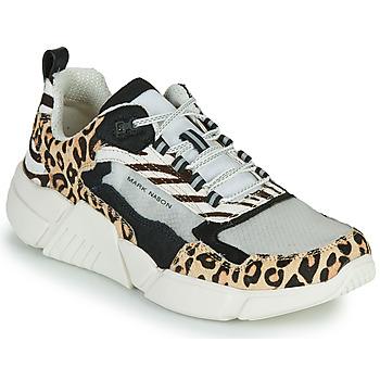 Shoes Women Low top trainers Skechers BLOCK - WEST Beige