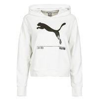 Clothing Women Sweaters Puma NUTILITY HOODY White