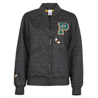 Clothing Women Jackets Puma BLACK STATION Black / Multicolour