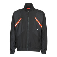 Clothing Men Track tops Puma WVN JACKET Black / Red