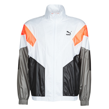 Clothing Men Track tops Puma TRK TOP White / Grey
