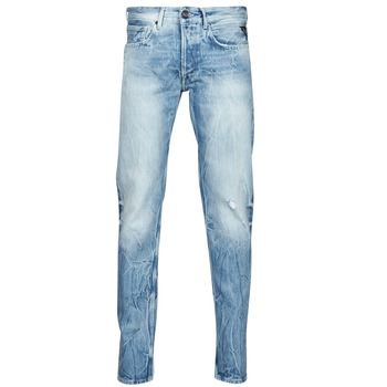 Clothing Men Straight jeans Replay WIKKBI Super / Light / Blue