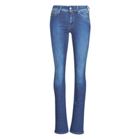 Clothing Women Bootcut jeans Replay LUZ Super / Light / Blue