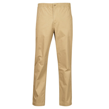 Clothing Men 5-pocket trousers Polo Ralph Lauren PANTALON CHINO PREPSTER AJUSTABLE ELASTIQUE AVEC CORDON INTERIEU Beige
