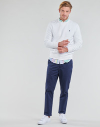 Clothing Men 5-pocket trousers Polo Ralph Lauren PANTALON CHINO PREPSTER AJUSTABLE ELASTIQUE AVEC CORDON INTERIEU Marine