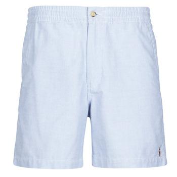 Clothing Men Shorts / Bermudas Polo Ralph Lauren SHORT PREPSTER AJUSTABLE ELASTIQUE AVEC CORDON INTERIEUR LOGO PO Blue