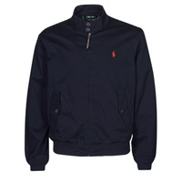 Clothing Men Jackets Polo Ralph Lauren BLOUSON BARACUDA COTON DOUBLE LOGO PONY PLAYER Blue