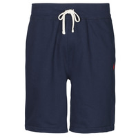 Clothing Men Shorts / Bermudas Polo Ralph Lauren SHORT MOLTONE EN COTON LOGO PONY PLAYER Blue