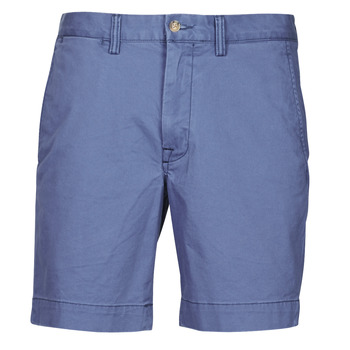 Clothing Men Shorts / Bermudas Polo Ralph Lauren SHORT CHINO LOGO PONY PLAYER Blue