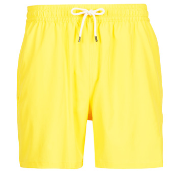 Clothing Men Trunks / Swim shorts Polo Ralph Lauren MAILLOT SHORT DE BAIN EN NYLON RECYCLE, CORDON DE SERRAGE ET POC Yellow