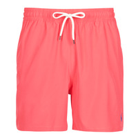 Clothing Men Trunks / Swim shorts Polo Ralph Lauren MAILLOT SHORT DE BAIN EN NYLON RECYCLE, CORDON DE SERRAGE ET POC Red