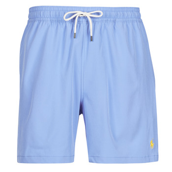 Clothing Men Trunks / Swim shorts Polo Ralph Lauren MAILLOT SHORT DE BAIN EN NYLON RECYCLE, CORDON DE SERRAGE ET POC Blue