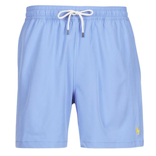 Clothing Men Trunks / Swim shorts Polo Ralph Lauren MAILLOT SHORT DE BAIN EN NYLON RECYCLE, CORDON DE SERRAGE ET POC Blue