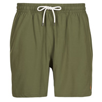 Clothing Men Trunks / Swim shorts Polo Ralph Lauren MAILLOT SHORT DE BAIN EN NYLON RECYCLE, CORDON DE SERRAGE ET POC Kaki