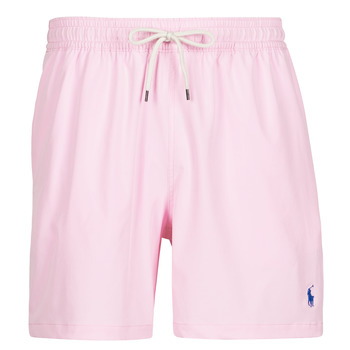 Clothing Men Trunks / Swim shorts Polo Ralph Lauren MAILLOT SHORT DE BAIN EN NYLON RECYCLE, CORDON DE SERRAGE ET POC Pink