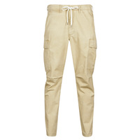 Clothing Men Cargo trousers Polo Ralph Lauren SHORT PREPSTER AJUSTABLE ELASTIQUE AVEC CORDON INTERIEUR LOGO PO Beige