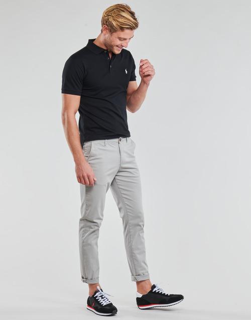 Polo Ralph Lauren POLO CINTRE SLIM FIT EN COTON STRETCH MESH LOGO PONY PLAYER