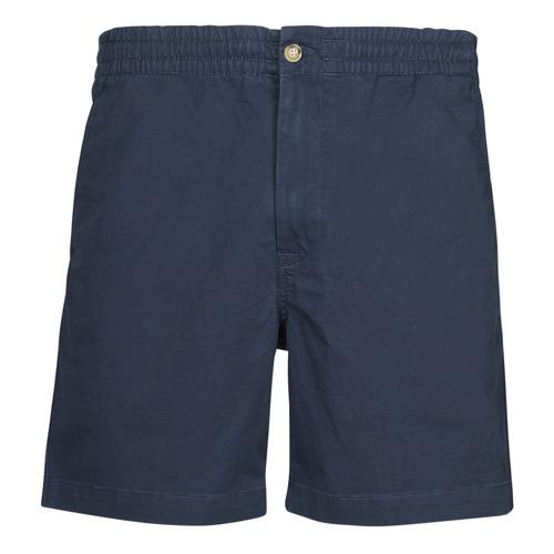 Clothing Men Shorts / Bermudas Polo Ralph Lauren SHORT PREPSTER AJUSTABLE ELASTIQUE AVEC CORDON INTERIEUR LOGO PO Marine
