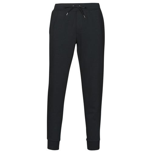 Clothing Men Tracksuit bottoms Polo Ralph Lauren PANTALON DE JOGGING EN DOUBLE KNIT TECH LOGO PONY PLAYER Black