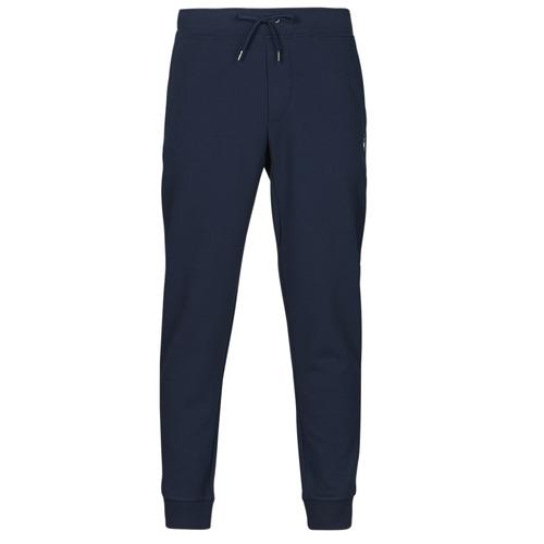 Clothing Men Tracksuit bottoms Polo Ralph Lauren PANTALON DE JOGGING EN DOUBLE KNIT TECH LOGO PONY PLAYER Marine