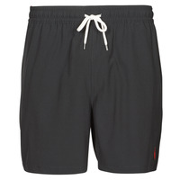 Clothing Men Trunks / Swim shorts Polo Ralph Lauren MAILLOT SHORT DE BAIN EN NYLON RECYCLE, CORDON DE SERRAGE ET POC Black