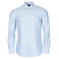 Clothing Men Long-sleeved shirts Polo Ralph Lauren LORENZ Blue