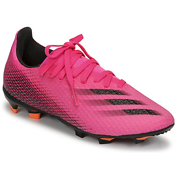 Shoes Children Football shoes adidas Performance X GHOSTED.3 FG J Pink