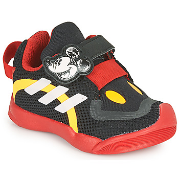 Shoes Children Low top trainers adidas Performance ACTIVEPLAY MICKEY I Black / Red