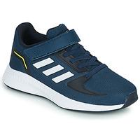 Shoes Boy Running shoes adidas Performance RUNFALCON 2.0 C Marine / White
