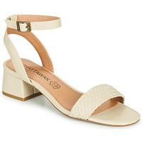 Shoes Women Sandals Chattawak MUSCADE Cream