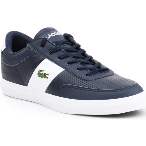 Shoes Men Low top trainers Lacoste Court-Master 119 2 CMA 7-37CMA0012092 navy , white