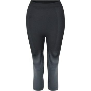 Clothing Women Leggings Dare 2b In The Zone Performance Base Layer 3/4 Leggings Black Black